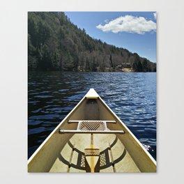 Canoe Ride Canvas Print