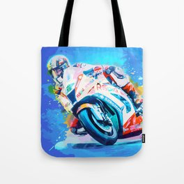 Superbike Racing Tote Bag
