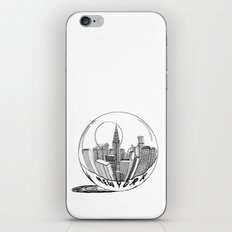 New York in a glass ball iPhone & iPod Skin