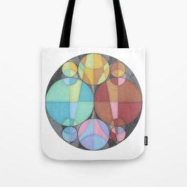 Eight Circles in a Circle Tote Bag
