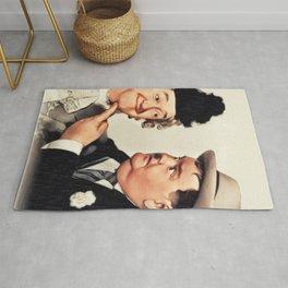 Stan Laurel and Oliver Hardy, Comedy Legends Rug