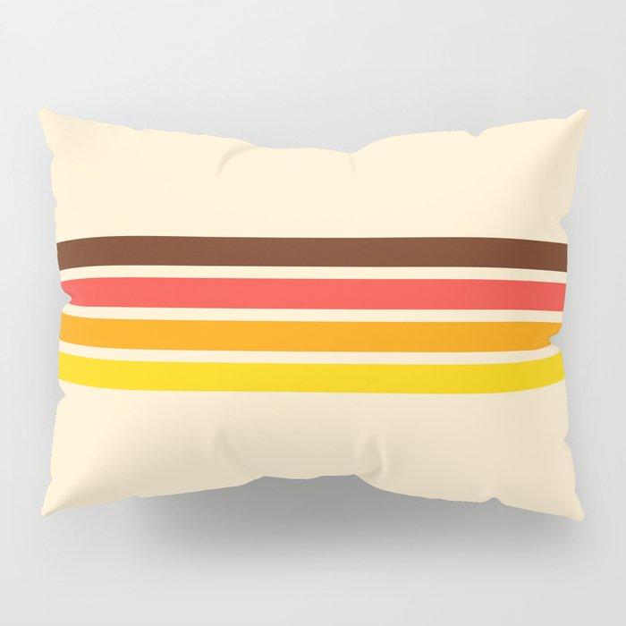 African Retro Stripes Pillow Sham