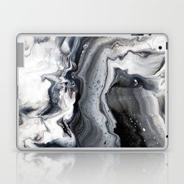 Marble B/W/G Laptop & iPad Skin