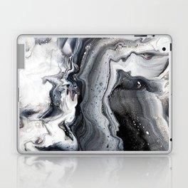 Marble B/W/G Laptop & iPad Skin