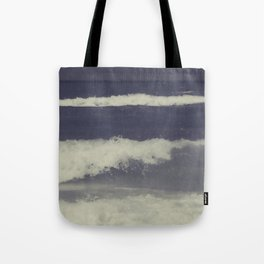 Ombre Waves Tote Bag