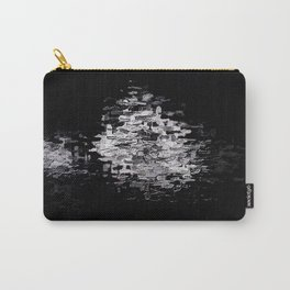 Pixels on Screen, Cobalt in E Minor Carry-All Pouch