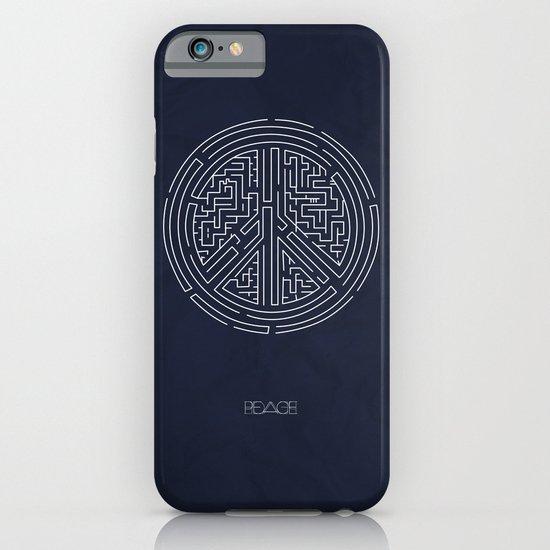 Peace Maze iPhone & iPod Case