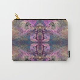 Abstract Blossom Carry-All Pouch