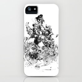 floating roots iPhone Case