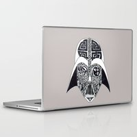 celtic Laptop & iPad Skins featuring Celtic Vader by ronnie mcneil
