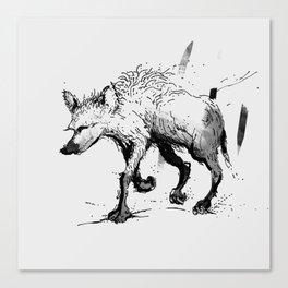 Wolf Trot Canvas Print