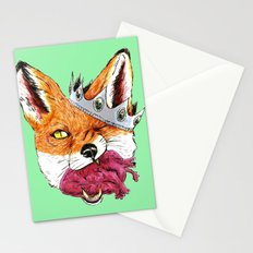 Queen Fox You Have My Heart Stationery Cards