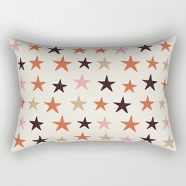 Star Pattern Color Rectangular Pillow