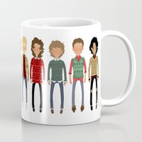 cargline Mugs featuring Christmas Sweaters by cargline