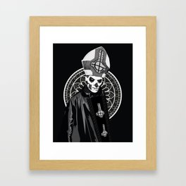 Your Infernal Majesty Framed Art Print