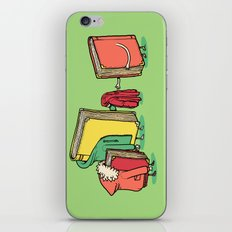 Book Jackets iPhone & iPod Skin