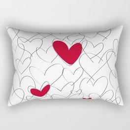 wild hearts Rectangular Pillow