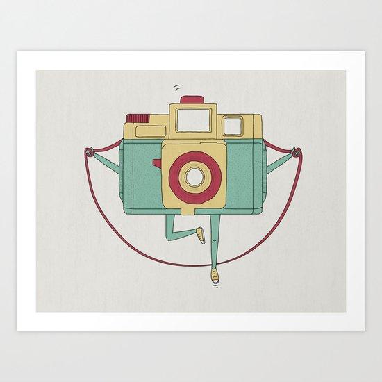 1, 2, 3, click! Art Print