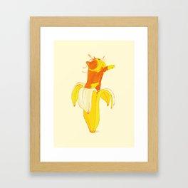 Mussegull Bananis Framed Art Print