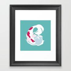 Koi:B Framed Art Print