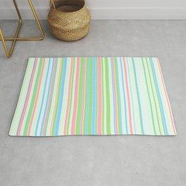 Stripe obsession color mode #2 Rug