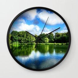 Clear & Blurry  Wall Clock
