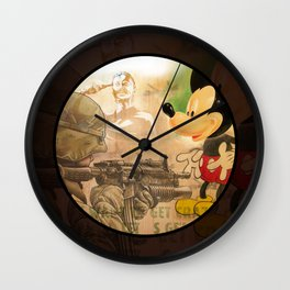 Get Crazy Mickey Wall Clock