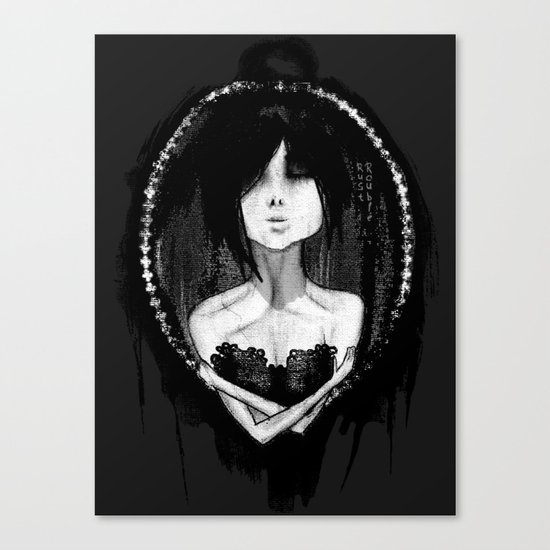 GothLoli (ゴスロリ) Canvas Print