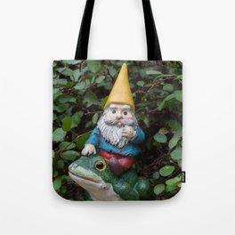 Adventure gnome Tote Bag