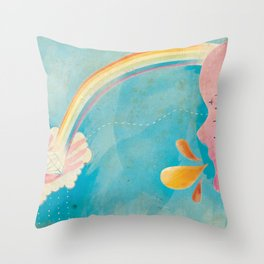 Inspire Me. Throw Pillow