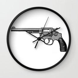 Revolver 2 Wall Clock