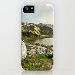 Lake Ercina iPhone Case