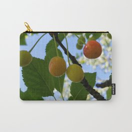 First Blush--Ripening Cherries Carry-All Pouch