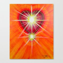 Love is... Light Canvas Print