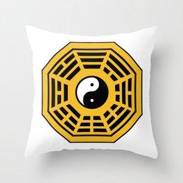 Yin Yang Bagua Throw Pillow