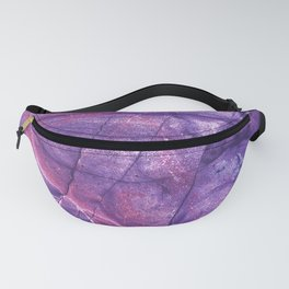 Smokey Ultra Violet and Pink Marble Fanny Pack