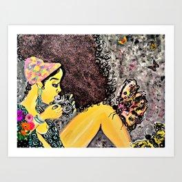 Nakia Harris Art Print