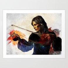 Instrumental Art Print