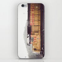 train iPhone & iPod Skins featuring Train by Kristine Ridley Weilert