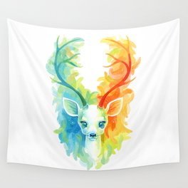 Feather Fawn Wall Tapestry
