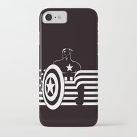 captain silva iPhone & iPod Cases featuring captain by MISTER BLACKWHITE