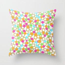 Happy Happy Throw Pillow