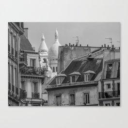Paris toits  Canvas Print