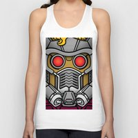 star lord Tank Tops featuring Star Lord by Ryan the Foe