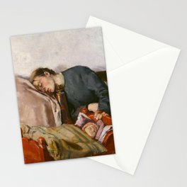 Christian Krohg, Mother and Child, 1883 Stationery Cards
