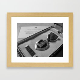 What Came Home Framed Art Print