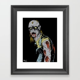 Just some zombie Framed Art Print