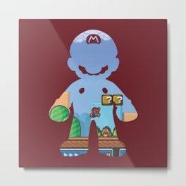 Super Mario Bros. Metal Print