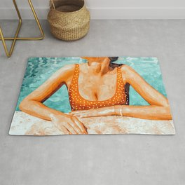 Mi Bebida Por Favor #painting #summer Rug