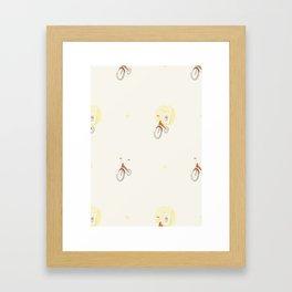 Ghostie Wallpaper Framed Art Print